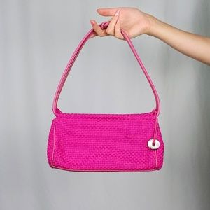 Early 00's The Sak hot pink mini bag